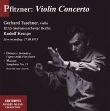 Hans Pfitzner (1869-1949): Violinkonzert h-moll op.34, CD