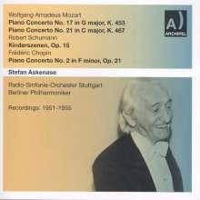 Wolfgang Amadeus Mozart (1756-1791): Klavierkonzerte Nr.17 & 21, 2 CDs