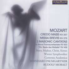 Wolfgang Amadeus Mozart (1756-1791): Messen KV 257 & 275, CD