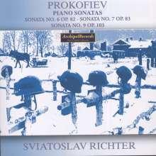 Serge Prokofieff (1891-1953): Klaviersonaten Nr.6,7,9, CD
