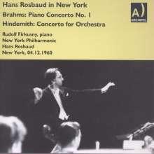 Hans Rosbaud  in New York, CD