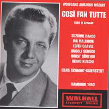 Wolfgang Amadeus Mozart (1756-1791): Cosi fan tutte (in deutscher Sprache), 2 CDs