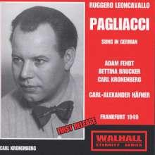 Ruggero Leoncavallo (1858-1919): Pagliacci (in dt.Spr.), CD