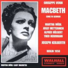 Giuseppe Verdi (1813-1901): Macbeth (in dt.Spr.), 2 CDs