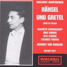 Engelbert Humperdinck (1854-1921): Hänsel & Gretel (in ital.Spr.), 2 CDs