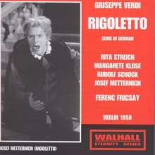 Giuseppe Verdi (1813-1901): Rigoletto (in deutscher Sprache), 2 CDs