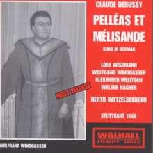 Claude Debussy (1862-1918): Pelleas und Melisande (in dt.Spr.), 2 CDs