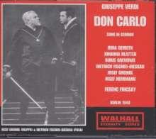 Giuseppe Verdi (1813-1901): Don Carlos (in dt.Spr.), 3 CDs