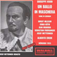 Giuseppe Verdi (1813-1901): Un Ballo in Maschera (in dt.Spr.), 2 CDs