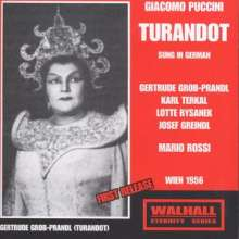 Giacomo Puccini (1858-1924): Turandot (in deutscher Sprache), 2 CDs