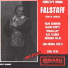 Giuseppe Verdi (1813-1901): Falstaff (in deutscher Sprache), 2 CDs