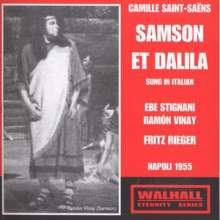 Camille Saint-Saens (1835-1921): Samson & Dalila (in ital.Spr.), 2 CDs