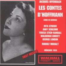 Jacques Offenbach (1819-1880): Les Contes D'Hoffmann (in dt.Spr.), 2 CDs