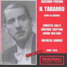 Giacomo Puccini (1858-1924): Il Tabarro (in dt.Spr.), CD