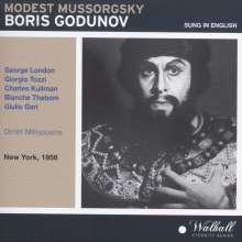 Modest Mussorgsky (1839-1881): Boris Godunow (in engl.Spr.), 3 CDs