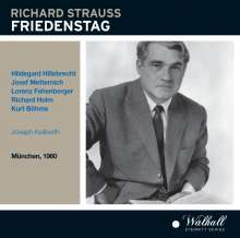 Richard Strauss (1864-1949): Friedenstag (Oper in 1 Akt), CD