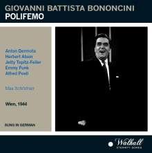 Giovanni Battista Bononcini (1670-1747): Polifemo, CD