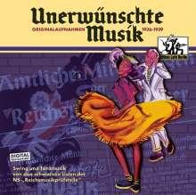 Unerwünschte Musik - Originalaufnahmen, CD