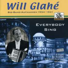 Will Glahé: Everybody Sing, CD