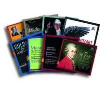 Mozart - Eine Hörbiografie von Jörg Handstein & legendäre BR-Einspielungen (Exklusiv für jpc), 12 CDs
