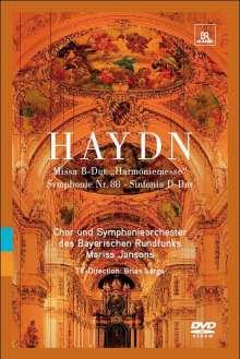 "Joseph Haydn (1732-1809): Messe Nr.14 ""Harmoniemesse"", DVD"
