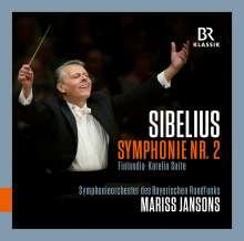 Jean Sibelius (1865-1957): Symphonie Nr.2, CD