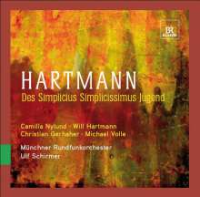 Karl Amadeus Hartmann (1905-1963): Des Simplicius Simplicissimus Jugend (Urfassung), 2 CDs