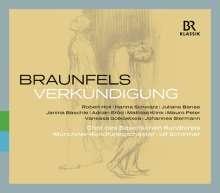 Walter Braunfels (1882-1954): Verkündigung op.50, 2 CDs