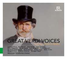 Great Verdi Voices, CD