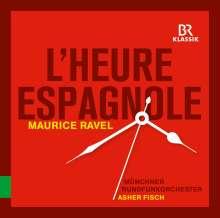 Maurice Ravel (1875-1937): L'heure espagnole, CD