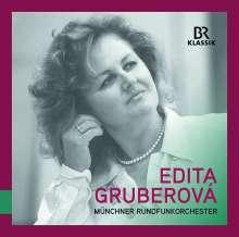 Edita Gruberova - Live-Aufnahmen mit dem Münchner Rundfunkorchester, CD