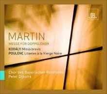 Frank Martin (1890-1974): Messe für 2 vierstimmige Chöre, SACD