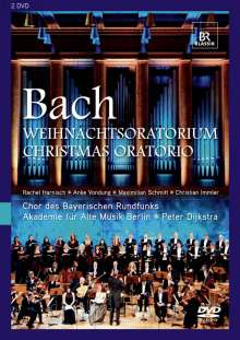 Johann Sebastian Bach (1685-1750): Weihnachtsoratorium BWV 248, 2 DVDs