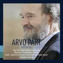 Arvo Pärt (geb. 1935): Miserere, CD
