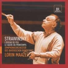 Igor Strawinsky (1882-1971): Le Sacre du Printemps, CD