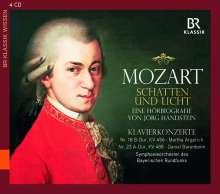 Mozart - Schatten und Licht (Eine Hörbiografie von Jörg Handstein), 4 CDs