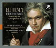 Beethoven - Freiheit über alles (Eine Hörbiografie von Jörg Handstein), 4 CDs
