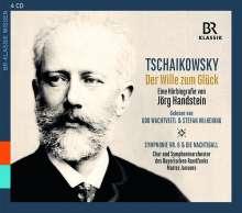 """Peter Tschaikowsky - """"Der Wille zum Glück"""" (Eine Hörbiografie von Jörg Handstein), 4 CDs"""