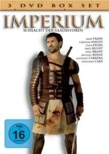 Imperium - Schlacht der Gladiatoren Vol.1-3, 3 DVDs