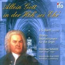 Christian Schmitt - Allein Gott in der Höh' sei Ehr', CD