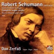 Robert Schumann (1810-1856): Orgelwerke, CD