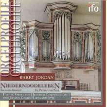 Barry Jordan,Orgel, CD