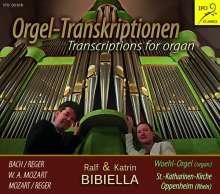 Johann Sebastian Bach (1685-1750): Brandenburgisches Konzert Nr.5 (in der Fassung für Orgel 4-händig von Max Reger), CD