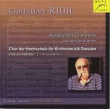 Christian Ridl (geb. 1943): Chorwerke, CD