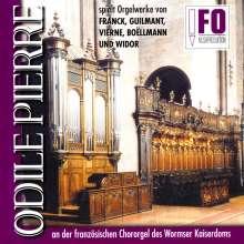 Odile Pierre,Orgel, CD