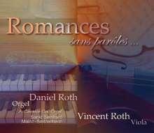 Daniel Roth - Romances sans paroles..., CD