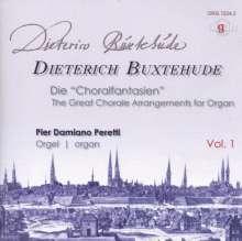 """Dieterich Buxtehude (1637-1707): Orgelwerke - Die """"Choralfantansien"""" Vol.1, CD"""