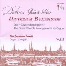 """Dieterich Buxtehude (1637-1707): Orgelwerke - Die """"Choralfantansien"""" Vol.2, CD"""