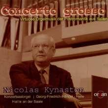 Nicolas Kynaston - Concerto grosso, CD