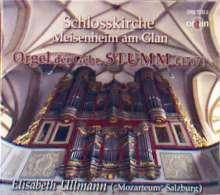 Stumm-Orgel der Schlosskirche Meisenheim am Glan, CD
